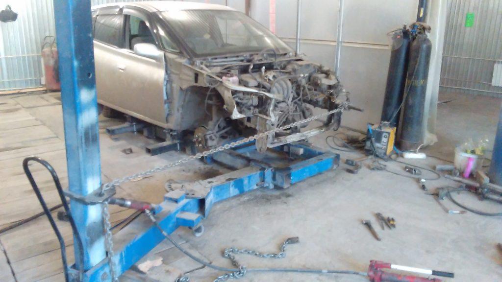 Toyota Opa ремонт