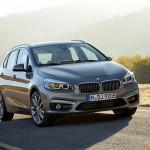 BMW 2 Series Active Tourer открывает завесу тайны