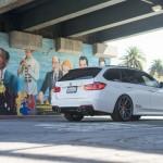 Фото нового Alpine White BMW 3 Series Touring With Vossen VFS1 Wheels