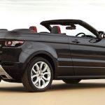 Размещен рублевый ценник накабриолет Range Rover Evoque