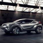 Тойота представит серийную версию C-HR на автомобильном салоне вДетройте