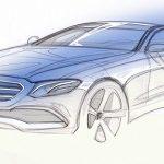 Размещены первые изображения нового Мерседес-Бенс E-Class W213