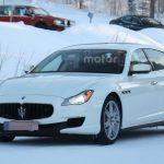 Обновленная версия седана Мазерати Quattroporte замечена натестах