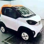 ВИнтернет попали шпионские кадры электромобиля Baojun E100