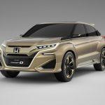 Хонда представит новый кроссовер ксередине весны 2016-ого наПекинском автомобильном салоне