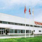 НаСанкт-Петербургском автомобильном заводе Тойота за прошедший год снизился объем производства