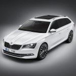 Весной на русском рынке автомобилей появится универсал Шкода Superb
