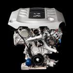 Инфинити представил новый битурбированный мотор V6