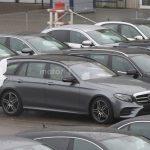 Дизайн нового автомобильного универсала Mercedes E-Class рассекретили допремьеры