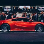 Первое купе Акура NSX продали нааукционе за $1,2 млн