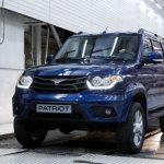 Вседорожный автомобиль «УАЗ Патриот» попал вТОП-25 самых покупаемых вРФ машин