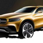 Benz обнародовал видео сучастием нового кросс-купе GLC Coupe
