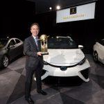 Седан Тоёта Mirai признан самым экологичным автомобилем 2016 года