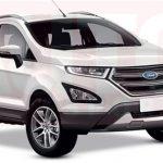 Улучшенный Форд EcoSport будет презентован кконцу года