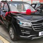 Озвучена стоимость семиместного кроссовера Dongfeng SX6