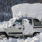 Опасность сугроба на автомобиле: разбираем тему
